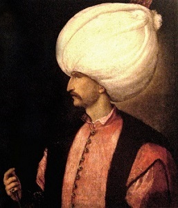 Suleiman the Magnificent (c1530), Kunsthistorisches Museum Wien, Wikimedia Commons