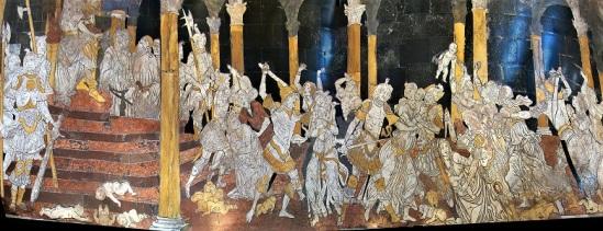 Massacre of the Innocents (c1483) by Matteo di Giovanni, Duomo di Siena, Photo by Tango7174, Wikimedia Commons