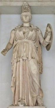 Minerva, Musei Capitolini, Photo by cjverb (2019)