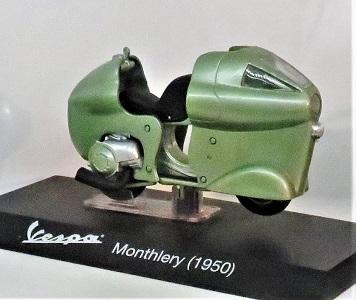 Model of Vespa Montlhery (1950), Bici & Baci Vespa Museum, Photo by cjverb (2019)