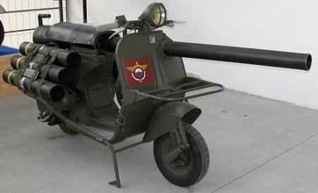 Vespa 150 TAP (1957), Photo by C. Galliani, Wikimedia Commons