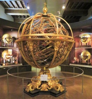 Armillary Sphere (1588-1593) by Antonio Santucci, Galileo Museum, Photo by cjverb (2019)