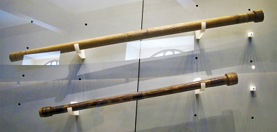 Galileo Galilei Telescopes (1609-1610), Galileo Museo, Photo by Sailko, Wikimedia Commons