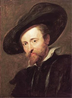 Self-Portrait by Pieter Paul Rubens (c1629), Rubenshuis, Wikimedia Commons