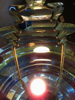 Fourth-Order Fresnel Lens (interior), Valley Camp, Photo by cjverb (2019)