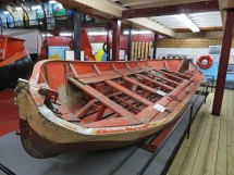 Edmund Fitzgerald Lifeboat #2, Valley Camp Museum Ship, Photo by cjverb (2019)