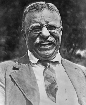 Theodore Roosevelt, Wikimedia Commons