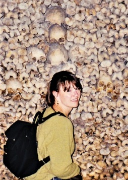cjverb @ Paris Catacombs, Photo by jpverb (1997)-400px