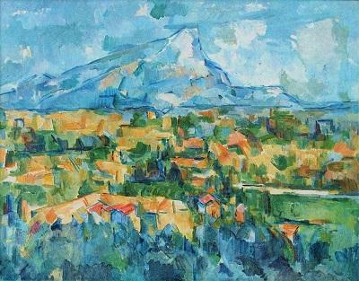 Mont Sainte-Victoire (c1904) by Paul Cézanne, Philadelphia Museum of Art, Wikimedia Commons