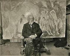 Paul Cézanne (1904), Photo by Émil Bernard, Wikimedia Commons