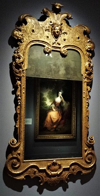 Gilded Mirror (c1725) by John Belchier, Detroit Institute of Arts, Photo by cjverb (2017)