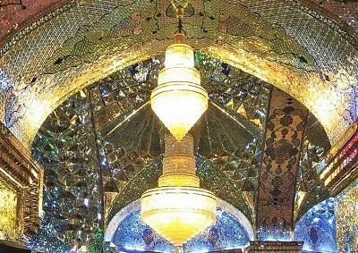 Shah Cheragh, Photo by Gwen Fran, Wikimedia Commons