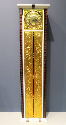 Tall-Case Clock (c1906) Designed by Josef Hoffmann, Art Institute of Chicago, Photo by cjverb (2019)