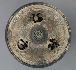 Bronze & Gold Incense Burner (1185-1334), Japan, DIA, Photo by cjverb (2020)