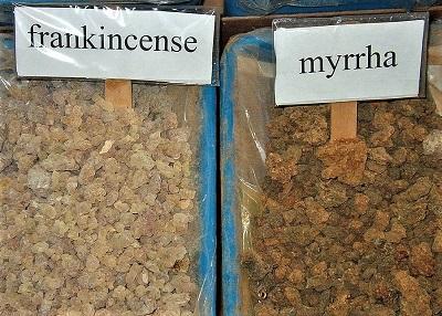 Frankincense& Myrhh, Photo by Sputnikcccp, Wikimedia Commons