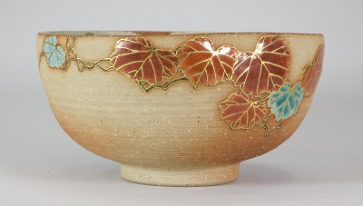 Glazed Stoneware Bowl by Makuzu Kōzan, Art Institute of Chicago