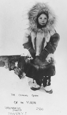 Young Girl Wearing Parka & Mukluks (c1900), Canadian Museum of History, Wikimedia Commons