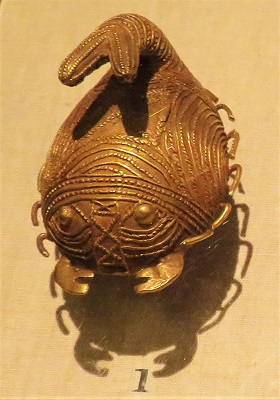 Chief's Gold Scorpion Ring, (c1900-1950), Asante (Ghana), DIA, Photo by cjverb (2018)