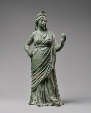 Statuette of Aphrodite (c2nd century BCE), J. Paul Getty Museum