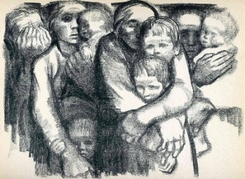 The Mothers (1919) by Käthe Kollwitz, WikiArt