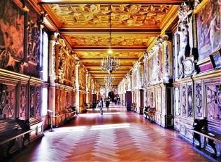 Château de Fontainebleau Galerie I, Photo by Zairon, Wikimedia Commons
