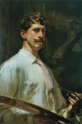 Frederick MacMonnies Self-Portrait (1896), Terra Foundation for American Art, Wikimedia Commons