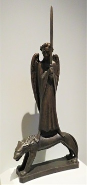 Champion of the Spirit (1928) by Ernst Barlach, Grand Rapids Art Museum, Photo by cjverb (2019)