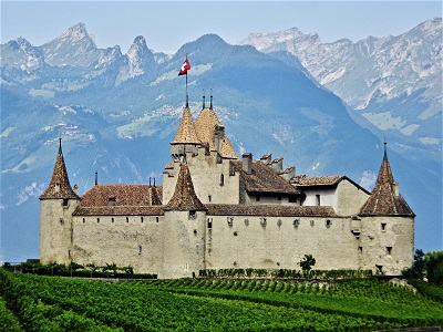 Château d'Aigle, Photo by Siggy Nowak, Pixabay