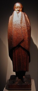 Freezing Girl (1917) by Ernst Barlach, Ernst Barlach Haus, Photo by Rufus46, Wikimedia Commons