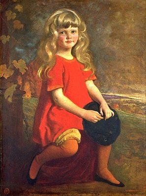 Polly (1916) by George de Forest Brush, Smithsonian American Art Museum, Wikimedia Commons