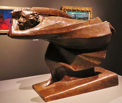 The Avenger (1922) by Ernst Barlach, San Diego Museum of Art, Photo by cjverb (2019)