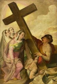 Invenzione della Vera Croce (c1585-1589) by Bartolomeo Passarotti, Wikimedia Commons