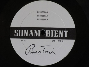 Sonambient Album Bellissima (1970) by Harry Bertoia, Wikimedia Commons