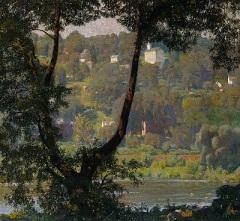 Tohickon (1920) by Daniel Garber, Smithsonian American Art Museum, Wikimedia Commons