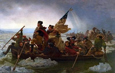 Washington Crossing the Delaware (1851) by Emanuel Leutze, Metropolitan Museum of Art, Wikimedia Commons