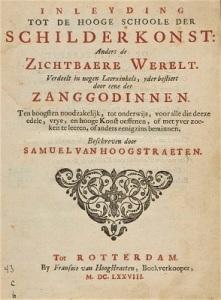 Inleyding tot de Hooge Schoole der Schilderkonst (1678) by Samuel van Hoogstraten, University Library Radboud University, Wikimedia Commons