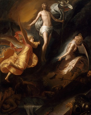Resurrection of Christ (c1665-1670) by Samuel van Hoogstraten, Art Institute of Chicago