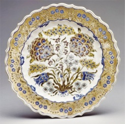 Zsolnay Earthenware Plate (prior to eosin glaze; c1880), Metropolitan Museum of Art