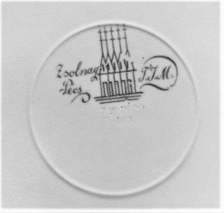 Zsolnay Seal on Earthenware Plate (c1880), Metropolitan Museum of Art
