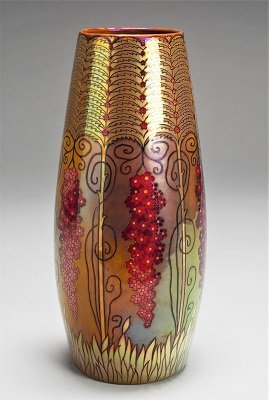 Zsolnay Vase (c1898-1900) by József Rippl-Rónai, Art Institute of Chicago